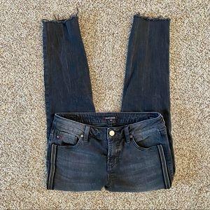 Dear John Cropped Jeans Black Stripe 26